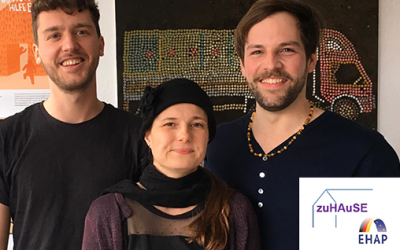 Straßensozialarbeit / ZuHAuSE-Projekt II – Housing first